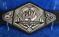 Defy Wrestling Championship Belt Adult Size