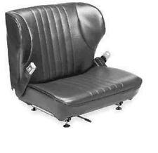 WISE Forklift Vinyl Seat with Seat Belt (Toyota, TCM, Clark) Seat Adjustors