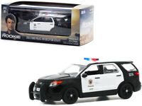 """2013 Ford Police Interceptor Utility LAPD """"The Rookie"""" 1/43 Diecast Greenlight"""