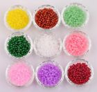 Wholesale 200pcs Glass Jade Spacer Loose Beads 4mm For Jewelry Making DIY