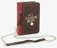 Disney Pixar Loungefly Up Carl And Ellie Adventure Book Crossbody Handbag