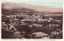 MALZIEU-VILLE cure d'air vue générale chaîne de la margeride timbrée 1943