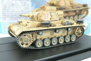 Dragon Armour 1/72 Panzer III Ausf.N (DAK) s.Pz.Abt.501 Tunisia 1942/43 60601
