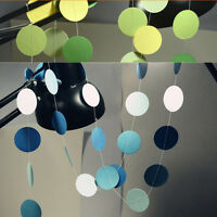 Colorful Hanging Paper Garlands String Wedding Party Birthday Kids Decoration ^r