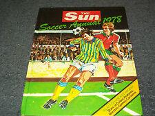 Soccer The Sun Annual 1978