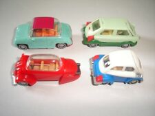 EUROPEAN CLASSIC 1950's BMW ISETTA MODEL CARS SET 1:87 - KINDER SURPRISE TOYS