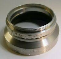 KODAK series 6 VI lens hood shade metal screw in w/ 44mm retaining ring Adapter
