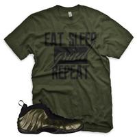 NEW GRIND Legion Green T Shirt for Nike Legion Green Foamposite One