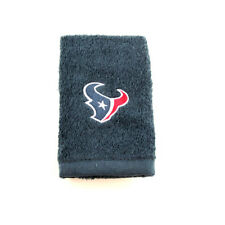 """NFL Houston Texans 11"""" x 18"""" Embroidered Logo Hand Golf Rally Crying Towel"""