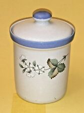 Vintage Savoir Vivre Tea Canister with Fruit Accents