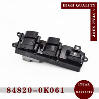 New Window Master Control Switch 84820-0K061 RHD for 04-15 Hilux Fortuner