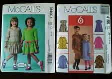 McCall's Patterns 4155 (SZ 7-12) and M4907 (SZ 6-7-8) Dresses - 8 Great Looks