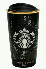 New Starbucks Times Square NYC Ltd. Edition Traveler Tumbler Ceramic Mug