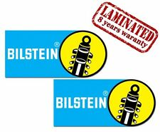 2 VINYL STICKERS BILSTEIN SHOCK ABSORBERS AUTO MOTO SPORT RACING CAR HELMET B 14