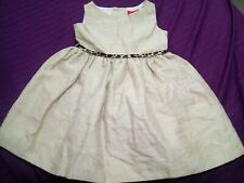 Girls Beautiful Golden Christmas Party Occasion Dress 4 years bought in Madrid
