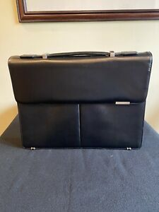 Hugo Boss Leather Briefcase