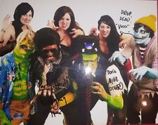 "*RARE* ""The Ghouligans""Hand Signed 10X8 Color Photo Authenticated"