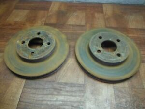 05-10 COBALT COUPE PONTIAC G5 OEM GM FRONT BRAKE ROTOR DISC rear drum