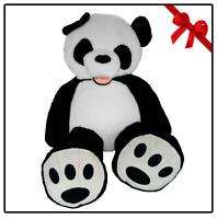 Peluche Panda Gigante 200cm Teddy Bear Orso Plush Grande XXL Idea Regalo Natale