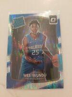 2017-18 Donruss Optic Rated Rookie #168 Wes Iwundu Shock Orlando Magic