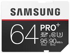 SAMSUNG PRO + 64 GB, Classe 10 (90MB / S) - SDXC CARD - (mb-sd64da / MZ)