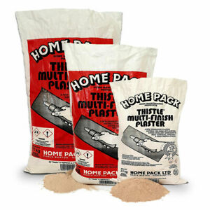 Zoo-Online HP Thistle Multifinish Plaster - Finishing Plaster for Home Use