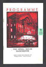 """Noel Coward """"AFTER THE BALL"""" Mary Ellis 1954 Manchester, England Tryout Playbill"""
