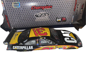 Jeff Burton #31  2010 cat Autographed  1:24 champion Series Lot Q 50