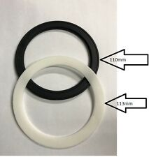 Rubber & Soft Washer For Kitchen Sink Strainer