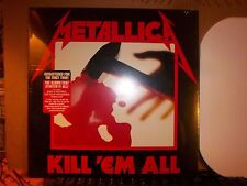 Metallica Kill 'Em All LP Album Vinyl MINT! (N) Factory Sealed!