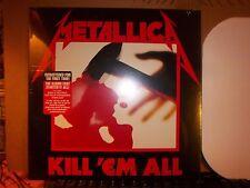 Metallica Kill 'Em All LP Album Vinyl MINT! (N) Factory Sealed!