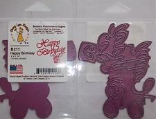 Cheery Lynn Design Die Cutter - Happy Birthday B211