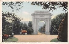 CHATTANOOGA TN ENTRANCE TO THE NATIONAL CEMETERY-CIVIL WAR POSTCARD
