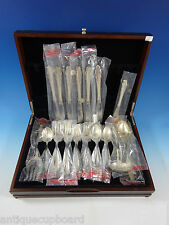 English Provincial Reed & Barton Sterling Silver Flatware Set Service 30 Pcs New