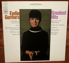 EYDIE GORME'S GREATEST HITS  -   LATIN, POP, BIG BAND, SWING VOCAL LP