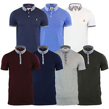 Mens Polo T Shirt Brave Soul Glover Cotton Collared Short Sleeve Casual Top