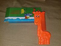 Vintage Avon Googly Groomers Comb Gordon Giraffe (1991) - NIB