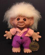 """Limited Edition Boy 9"""" Thomas Dam Troll Doll - With Original Tag - Rare"""