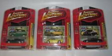 LOT (3) 2007 JOHNNY LIGHTNING MODERN MUSCLE R2 2 CORVETTE 3 IMPALA 4 MUSTANG NEW