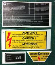 Adesivi BMW R80 GS cod. 558 vari 1985 - adesivi/adhesives/stickers/decal