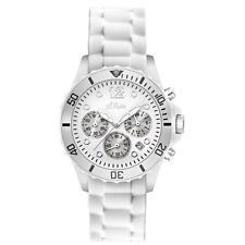 s.Oliver Armbanduhren aus Kunststoff mit Chronograph