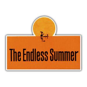 endless summer sticker 110 x 80mm surfing surf decal
