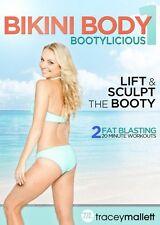 TRACEY MALLETT BIKINI BODY BOOTYLICIOUS EXERCISE WORKOUT DVD NEW SEALED