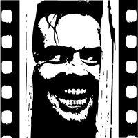 HAND PAINTED - The Shining film Jack Nicholson pop art painting - Not a print.