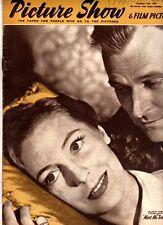 PICTURE SHOW - UK MOVIE MAGAZINE - 11 OCT 1952 - VALERIE HOBSON - FRANKIE LANE