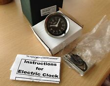 smiths 52mm  black faced car clock mini , etc BS3-2