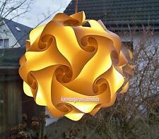 DECKENLAMPE Puzzlelampe Effektleuchte Gr.M incl.Kabel u.fertig montiert - NEU