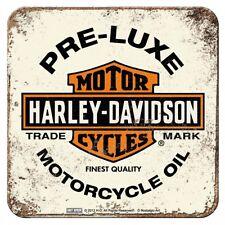 Nostalgic Art Metalluntersetzer Harley Davidson Preluxe Oil  9x9 #