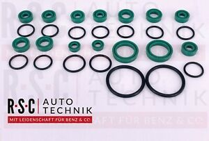 Mercedes R129 roof hydraulics rebuilt kit seal kit all cylinders 90-2002