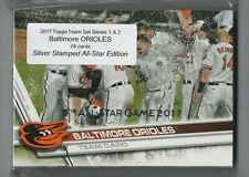 2017 Topps Baltimore ORIOLES Team Set Silver Stamped All-Star Variation (24)